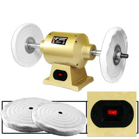 """6"""" Electric Bench Grinder Buffer Power Tools Auto Body"""