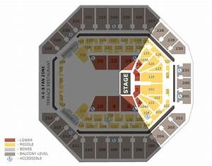 Seating Charts At T Center