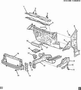 2013 Chevrolet Spark Ls 4dr Fender Apron Reinforcement  W