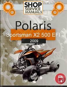 Polaris Atv Sportsman X2 500 Efi 2009 Service Repair Manual