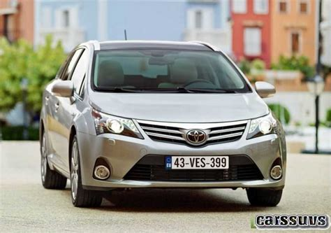 The New 20182019 Toyota Avensis  New Cars  Price, Photo