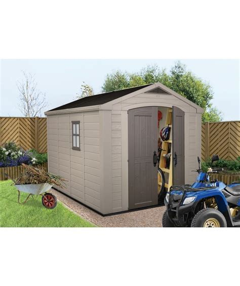 Buy Keter Apex Plastic Garden Shed   8 x 11ft at Argos.co