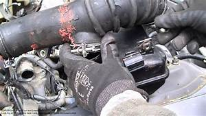 How To Disassemble Intake Hose Toyota Camry  2 2 Liter