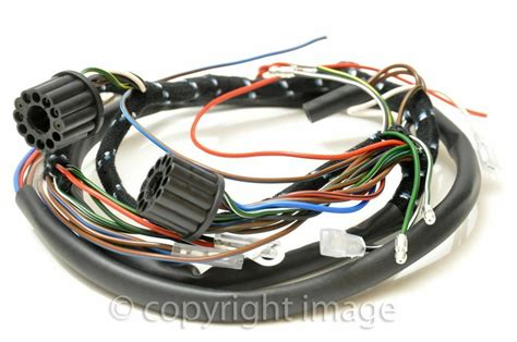 Triumph Tiger Cub Wiring Harness Switches Under Seat