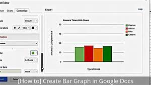 how to create bar graph in google docs youtube With google docs add graph