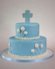 Boy Baptism Cake Ideas