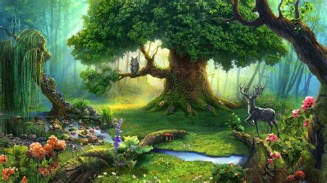 enchanted forest art id  art abyss