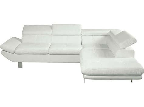canape loft conforama canapé d 39 angle fixe droit 5 places loft coloris blanc en
