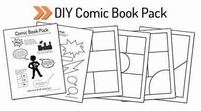 Comic Diy Pack Printable Blank Drawing Create