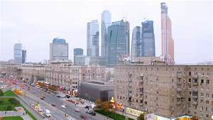 MOSCOW - NOV 14: (Timelapse) Traffic On Kutuzovsky ...