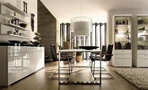 composition hulsta pour votre salle a manger design table With meuble salle À manger avec chaise blanche design salle a manger