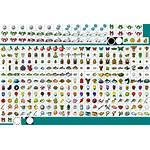 Crossing Animal Icons Sheet Folk Spriters Resource