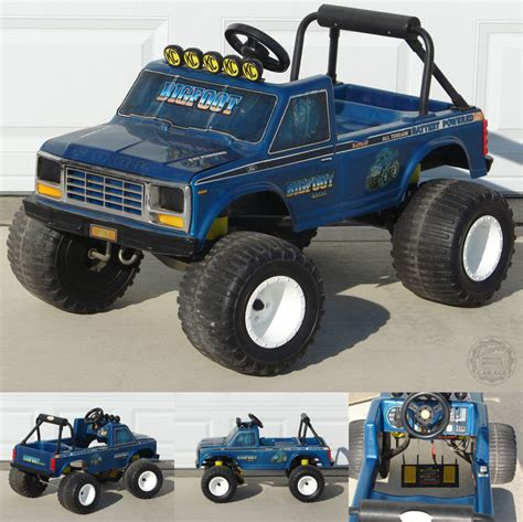 power wheels bigfoot monster truck nostalgia pic thread off topic random misc posts