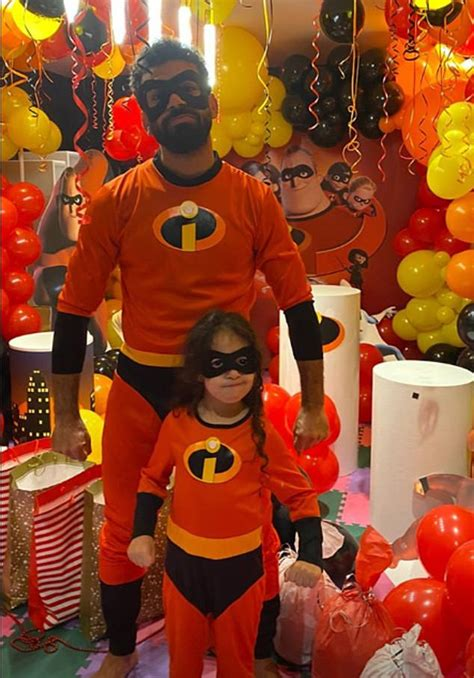 Superher-Mo! Salah wears Incredibles costume to celebrate ...