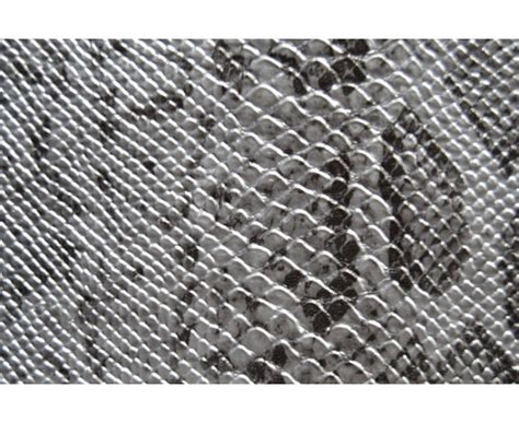 tissu au metre pour canapé tissu similicuir serpent argent au mètre