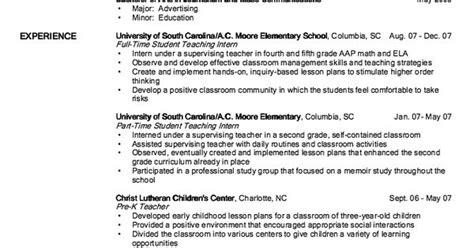 resume pre kindergarten exle of pre k resume http exleresumecv org exle of pre k resume