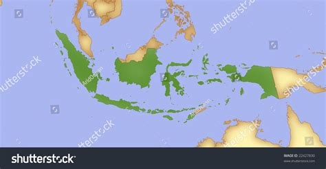 map  indonesia  borders  surrounding countries