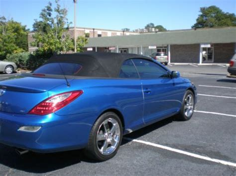 2008 Toyota Solara Convertible by Sell Used 2008 Toyota Solara Sport Convertible 2 Door 3 3l