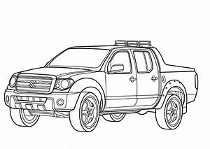 pick up coloriages des transports With 1953 ford f250 4x4
