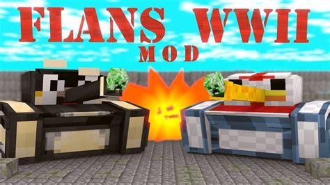Flan's World War Two Pack Mod 1.12.2/1.7.10