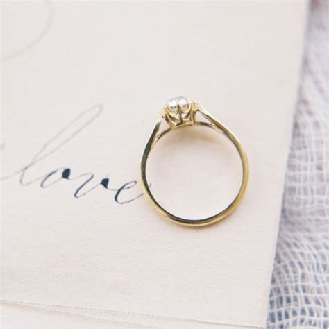 simple vintage engagement ring www pixshark images