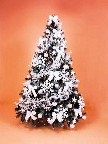christmas tree hire frosty style fully decorated