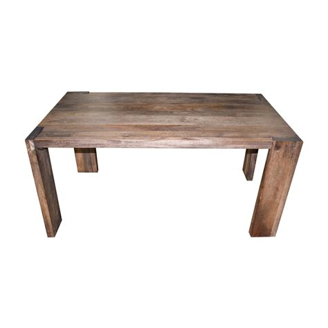 rustic dining table 73 cb2 cb2 rustic wood dining table tables 7848