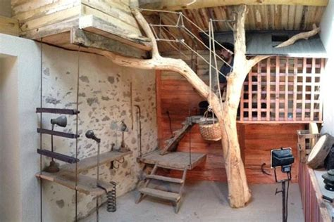 cabane dans une chambre décoration chambre cabane