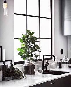 Schwarz Weiße Küche : black white minimalist kitchen schwarz wei e minimalistische k che schwarz wei e k chen ~ Markanthonyermac.com Haus und Dekorationen