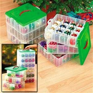Snapware Christmas Ornament Storage Boxes Make Organizing