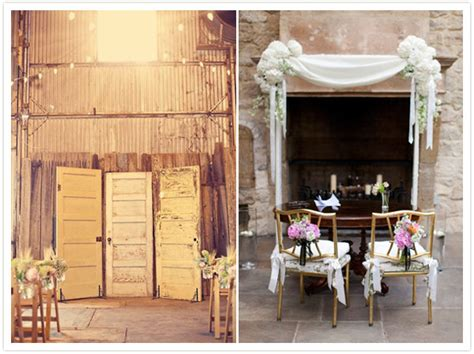 get creative ceremony backdrop and altar inspiration onefabday