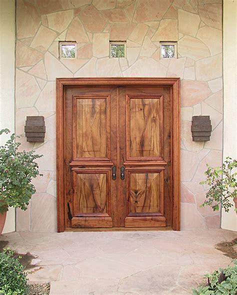 Double Front Entry Doors — Interior & Exterior Doors Design
