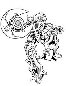 Transformers Jazz Coloring Pages Printable