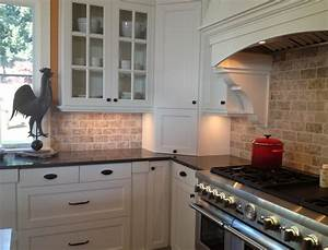 Backsplash ideas white cabinets brown countertop amazing for Kitchen designs with white cabinets and black countertops