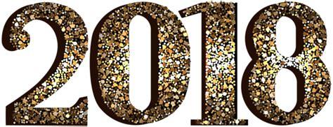 2018 Decorative Transparent Clip Art Image