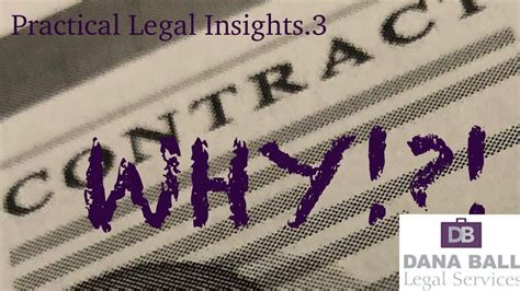 practical legal insights   contract   small