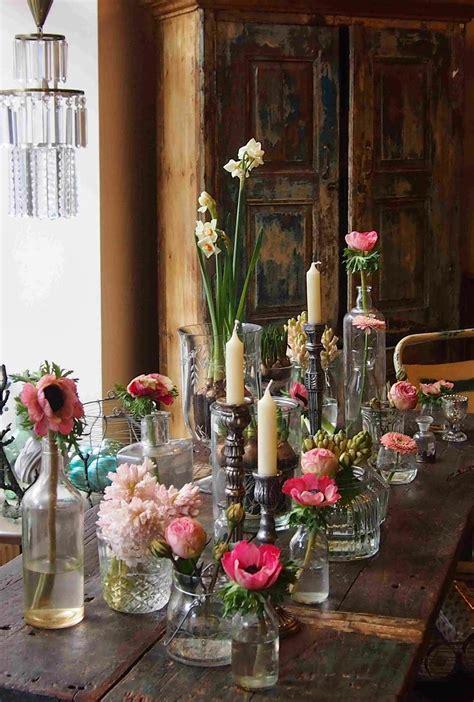 Blumen Hochzeit Dekorationsideenhochzeit Blumen Deko by Deko Blumen Tischdekoration Kerzen Rustikal Living