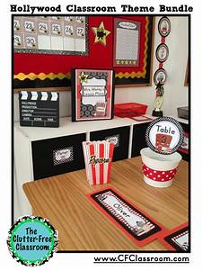 Hollywood Themed Classroom Photos Printables And Ideas