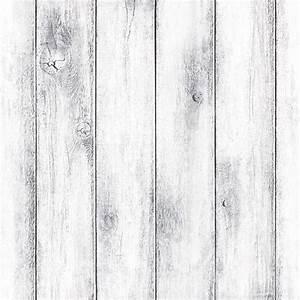 Whitewash Wood Wallpaper Designs Panel Pattern Vinyl Peel ...