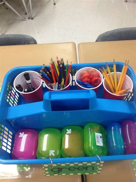 table totes   classroom