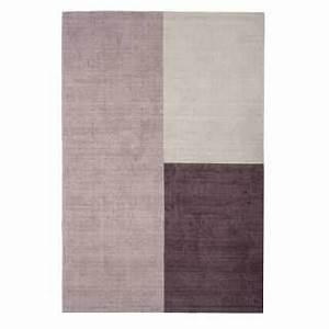 Tapis Forme Geometrique : tapis naturel en jute bleu tiss la main ~ Teatrodelosmanantiales.com Idées de Décoration