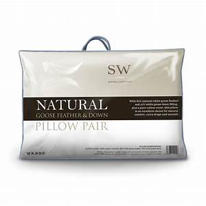 Goose feather down pillow sw living for Company store down pillows