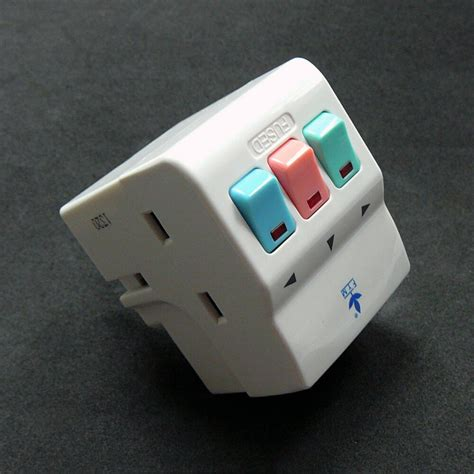 New Way Multi Plug Electrical Extension Socket Fused