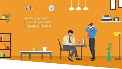 Financial Stress Business Running Ways Banner Section