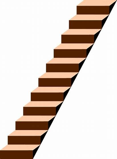 Stairs Clip Clipart Staircase Stairway Vector Domain