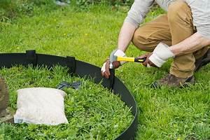 Bache Anti Herbe Sous Gravier : piquet pour bordure polyur thane bordure de jardin ~ Edinachiropracticcenter.com Idées de Décoration