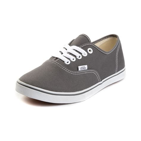 casual shoes for toddler vans authentic lo pro skate shoe grey 499608