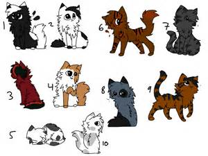 cats characters cat character adopts closed by warriorcatniss on