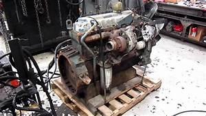 1995 International Dt466 Engine Running