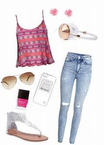 Cute and casual spring and or summer girlie outfit for ...